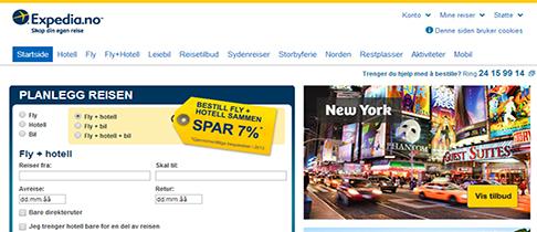 flybilletter expedia